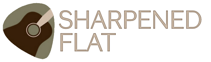 Sharpened Flat logo 2016